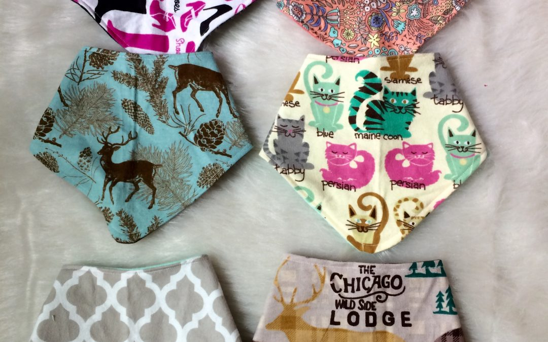 DIY Bandana Bibs with Video Tutorial!