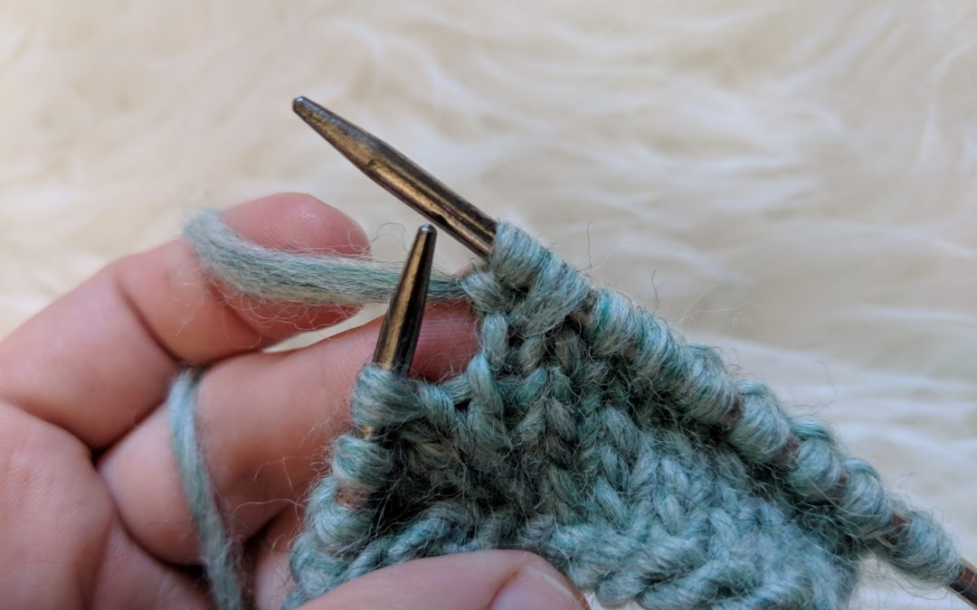 "Teach Yourself to Knit: ""Knit in Front and Back"" Increase"